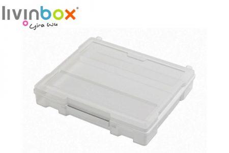 Scrapbook case - Portable scrapbook case with handle