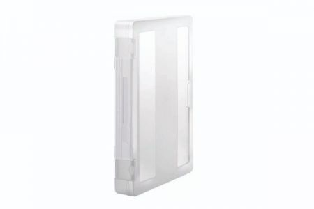 Large Active-Use Carry File with transparent snap-lock for 300 Sheets of A4 Sized Paper - A4 file case