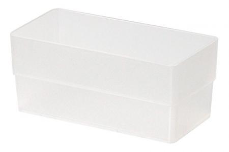 Tall Square Box in Medium Size - Tall Square Box (medium size) in clear.