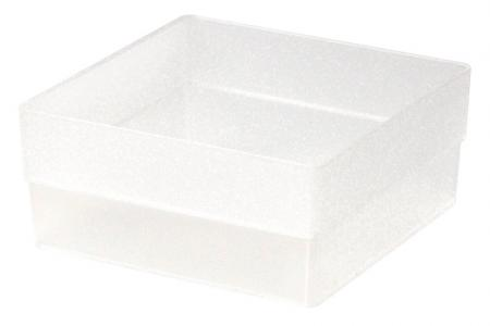 Tall Square Box in Large Size - Tall Square Box (large size) in clear.