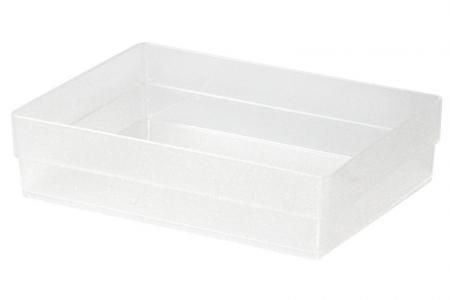 Squat Square Box in Small Size - Squat Square Box (small size) in clear.