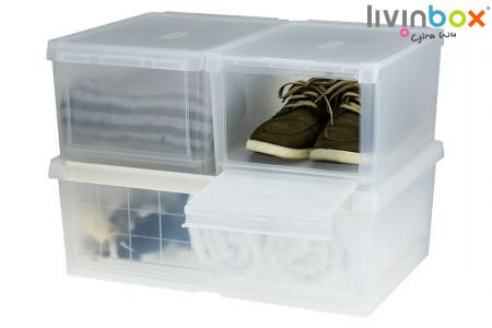 Storage Box - Storage Container, Shoe Storage, Shoe Box, Shoe Organizer, Storage Chest