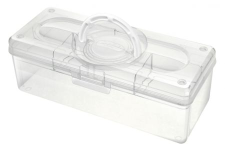 Portable Project Case - 3.3 Liter Volume - Portable project case (3.3L volume) in clear.