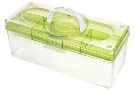 Portable Craft Organizer Box, 5.3 Liter