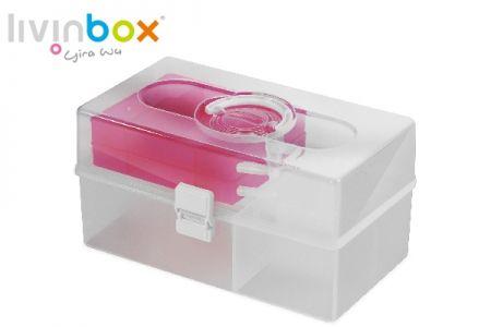 Portable Craft Organizer Box, 10 Liter - Portable Craft Organizer Box, 10 Liter