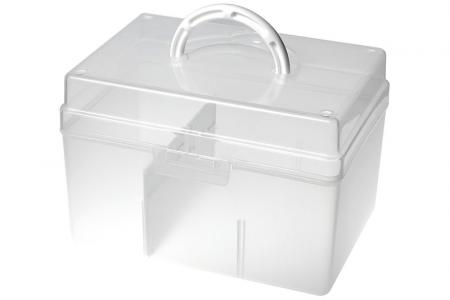 Portable Project Case with Divider - 5.8 Liter Volume - Portable project case with divider (5.8L volume).