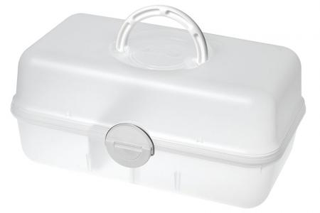 Portable Project Case with Divider - 6.3 Liter Volume - Portable project case with divider (6.3L volume).