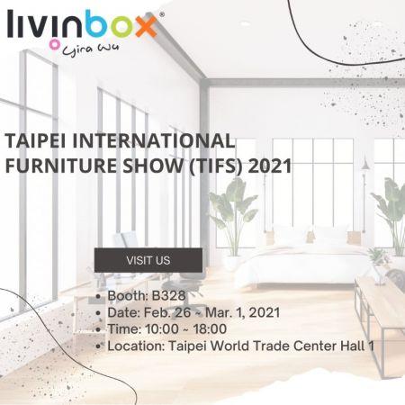 livinbox in Taipei International Furniture Show (TIFS) 2021
