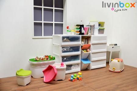 Toy Storage - Children Storage Desk, Storage Chair, Toy Bin, Toy Organizer