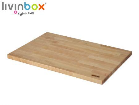 Wooden desk-top for 60L Plastic Storage Tote with attached lid - Wooden desk-top for 60L Plastic Storage Tote with attached lid