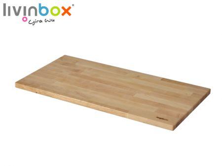 Mặt bàn bằng gỗ cho Thùng chứa nhựa có thể gập lại 45L - Mặt bàn bằng gỗ cho Thùng chứa nhựa có thể gập lại 45L
