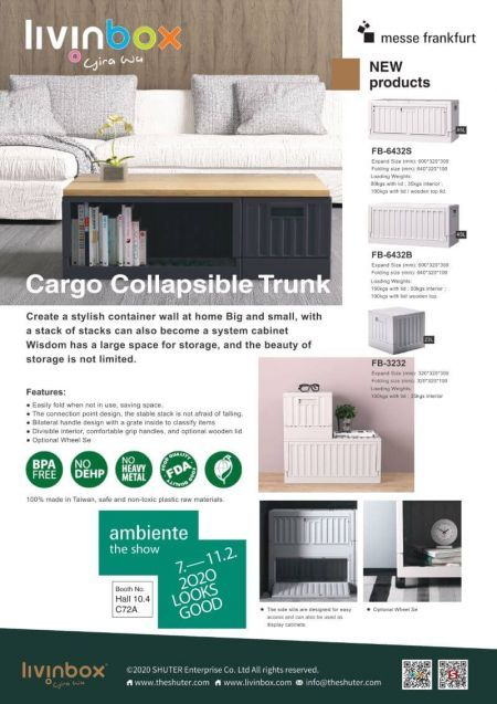 livinbox Cargo collapsible trunk for storage