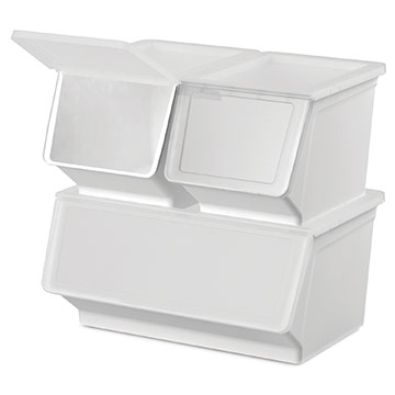 Wide Stack & Nest Storage Bin