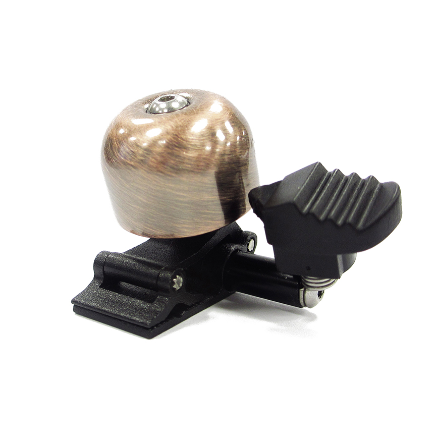 Mini Brass Bell With Arrow Hammer - Bike Bell With Arrow Hammer