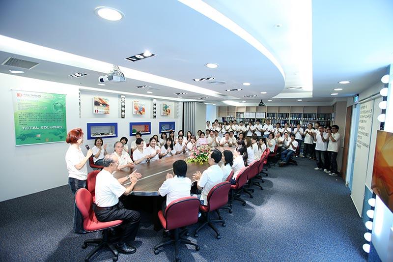 Пан Тайваньская группа сотрудников Фото
