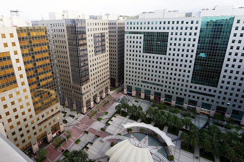 Промышленная площадь, на которой расположена штаб-квартира Pan Taiwan.