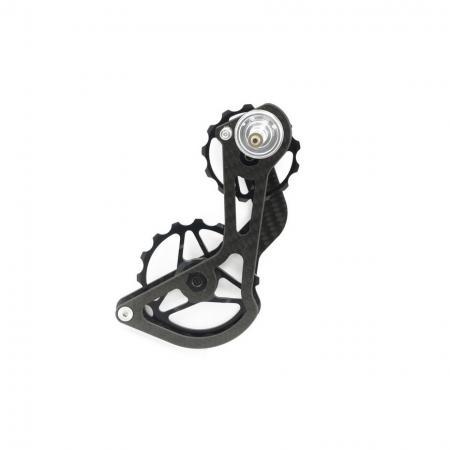 13T / 16T Derailleur Cage with Full Ceramic Bearing (Carbon Fiber) - Derailleur Cage