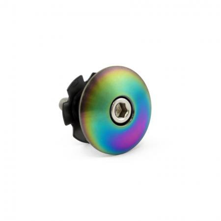 Titanium Domed Headset Cap - Titanium Headset Cap