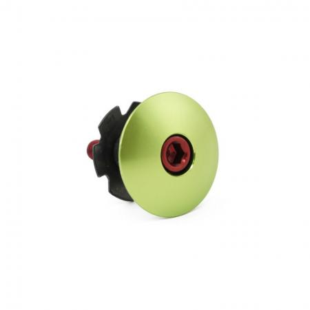 Anodized Domed Headset Cap - Anodized domed headset cap