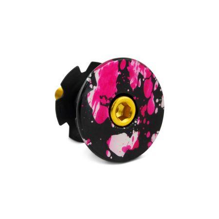 Flat Headset Cap Splash Anodizing