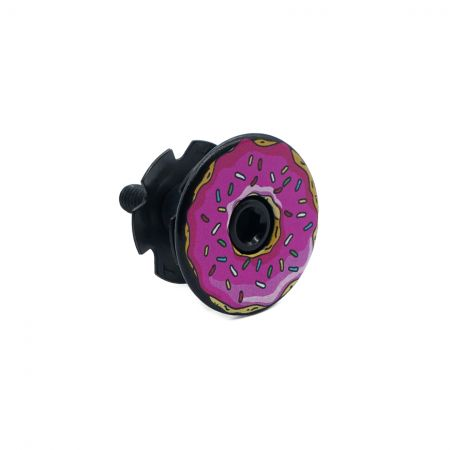 UV Printing Domed Headset Cap - UV Printing Domed Headset Cap