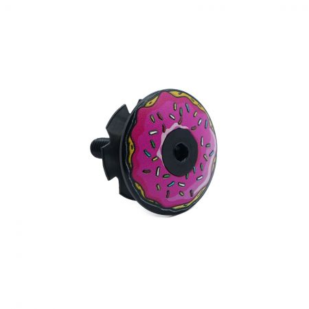 Donut Countersunk Headset Cap - Dount headset cap