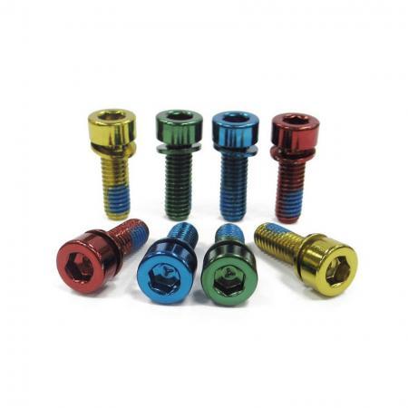 Disc Brake Caliper Bolts - Anodized caliper bolts
