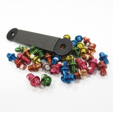 Anti-Skidding Pedal Pins for MTB - Replaceable Anti-Slip Bike Pedal Pins