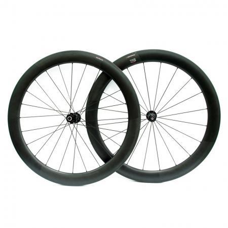 Full Carbon Wheel Set 58 mm Profile W / DT Swiss Hub & Sapim Spoke - Full carbon wheel set 58 mm profile w/ DT Swiss Hub & Sapim spoke