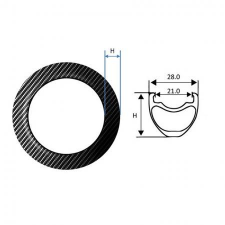 Carbon Fiber Rim, BMX - Carbon Fiber Rim, BMX