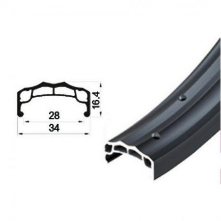 Aluminum Double Wall Rim for BMX Bikes - Aluminum Double Wall Rim for BMX bikes