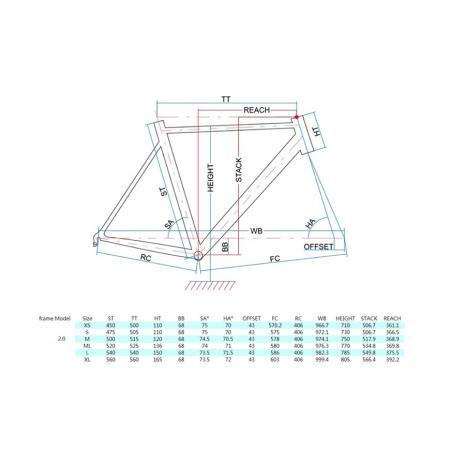 Bike Frame Geometry