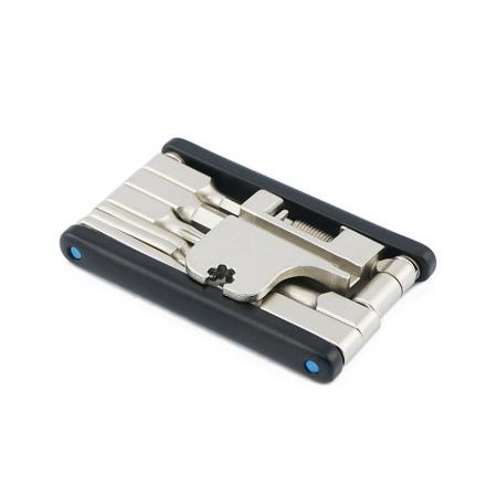 16 in 1 Flat Tool, Extruded C - 16 in 1 flat tool with extruded body and Cr- V bits