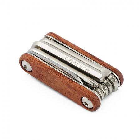 Складной инструмент 9 в 1, деревянный
