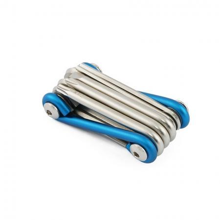 10 in 1 Folding Tool, Wire 9 - 10 in 1 Folding Tool, Wire 9 Folded