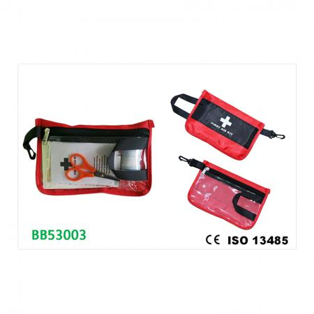 First Aid Kit, Zipper Bag, M - Medical First Aid Kit