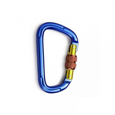 Aluminum Carabiner Screw Lock - Carabiner screw lock