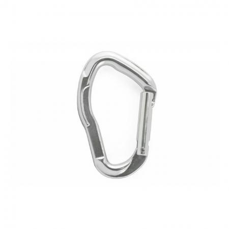Aluminum Carabiner Straight Gate - Carabiner straight gate