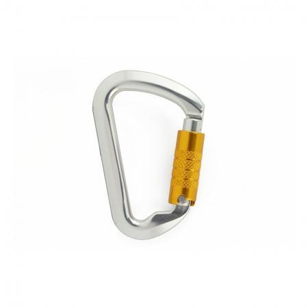 Aluminum Carabiner Triple Lock - Carabiner triple lock