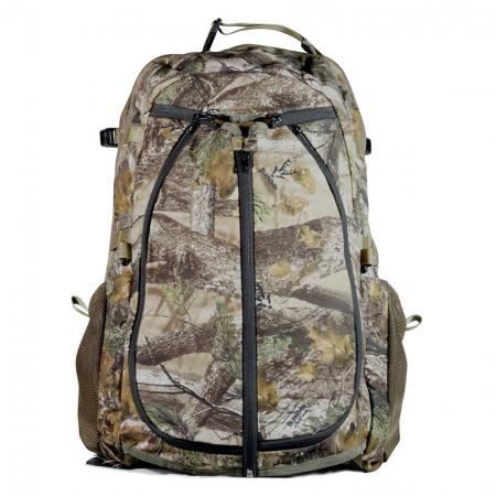 32L Camo Hunting Backpack with Soft Eyewear Pocket - Backpack carrying rifle