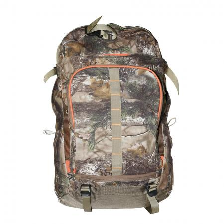27L Camo Hunting Day Pack - Hung day pack