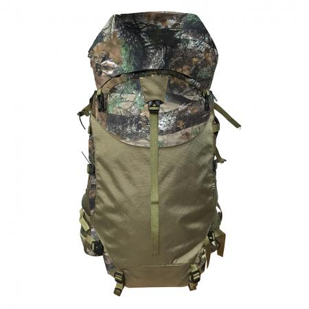 43L Camo Hunting Backpack - Hung day pack