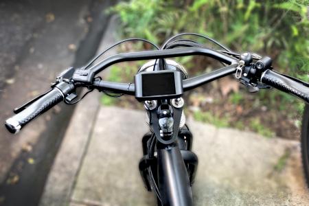 Bike Handlebars - BB29304 used on a electric bike