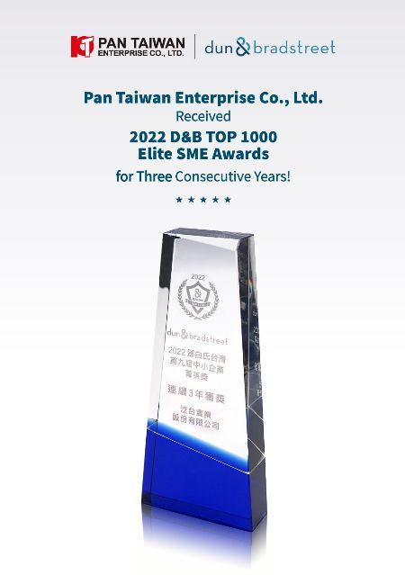Сертификат D&B Top 1000 SMEs Elite Award 2017.