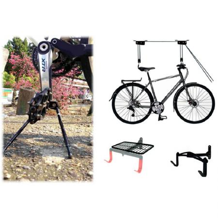 Bike Display & Storage - Bicycle Lifter-Foldable Stand.