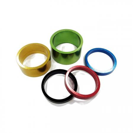 Headset Spacers - Anodizing Alloy Headset Spacer.