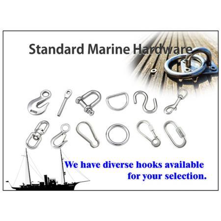 Stainless Steel Carabiner - Carabiner for Marine