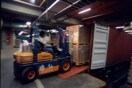 Загрузка контейнера