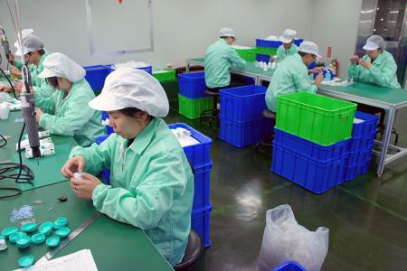Staff in production line are hard to be seen but truly important.