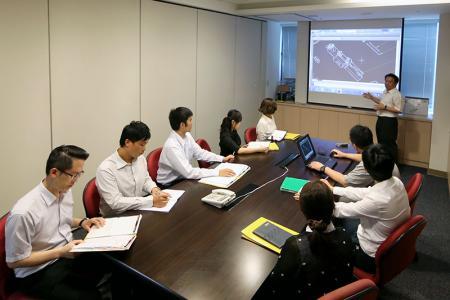 Наше совещание по разработке продуктов.